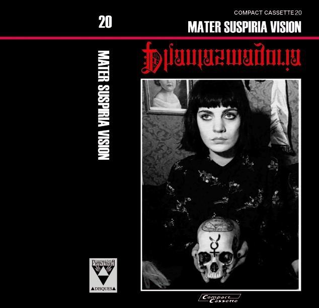 Image of [LIMITED 11] MATER SUSPIRIA VISION - Phantasmagoria Cassette (Black Edition A: Valentina Design)