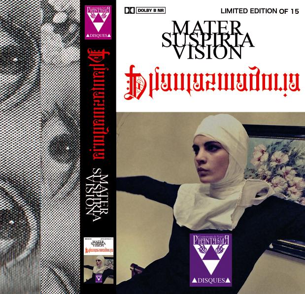 Image of [LIMITED 15] MATER SUSPIRIA VISION - Phantasmagoria Cassette (Classic Design)