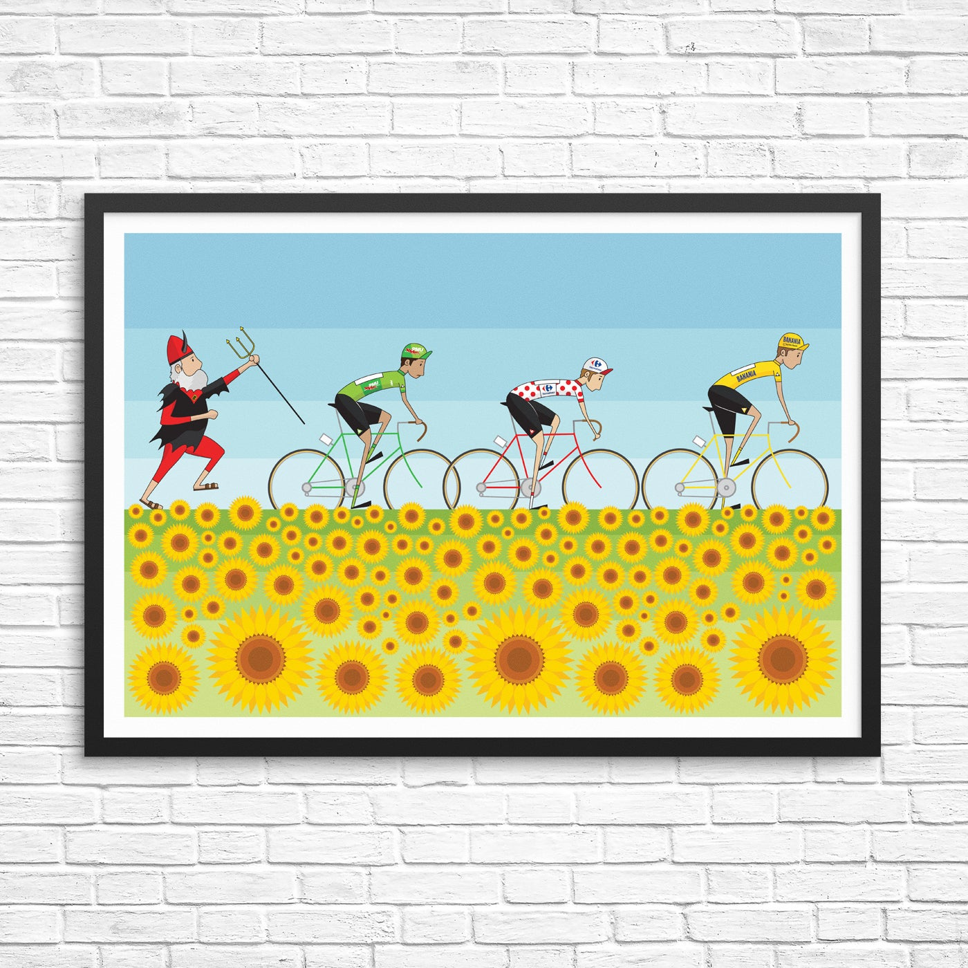 Permalink to Tour De France Art