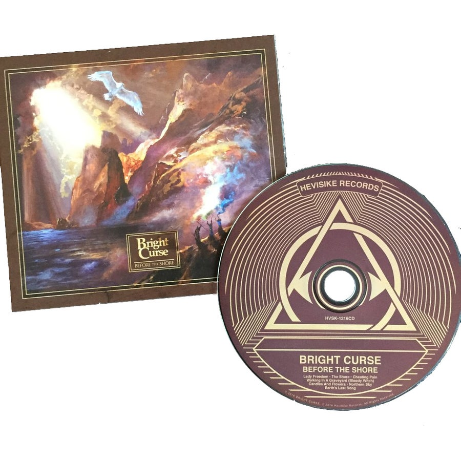 Image of Bright Curse - Before The Shore [CD]
