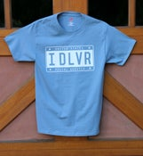 Image of NEW!!! IDLVR License Plate Tee
