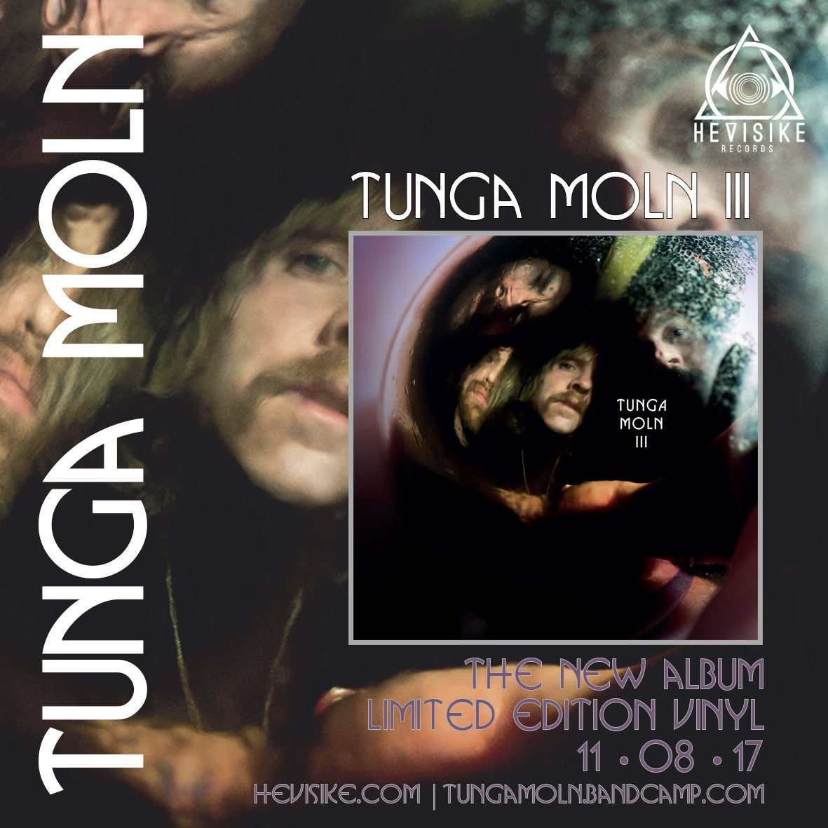 Image of Tunga Moln - III LP