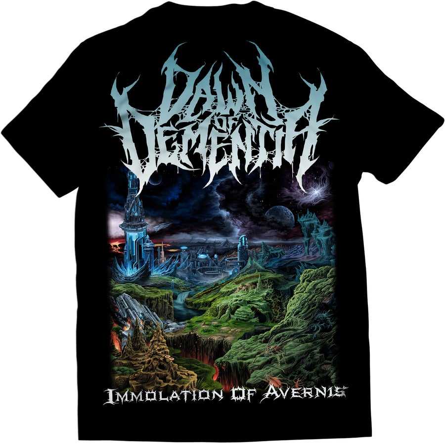 Image of Dawn Of Dementia - Immolation Of Avernis - T-Shirt