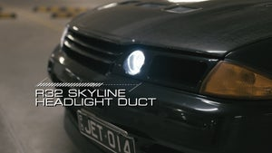 Image of Ducted Headlight - Nissan R32 Skyline