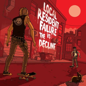 Image of Local Resident Failure / The Decline Split