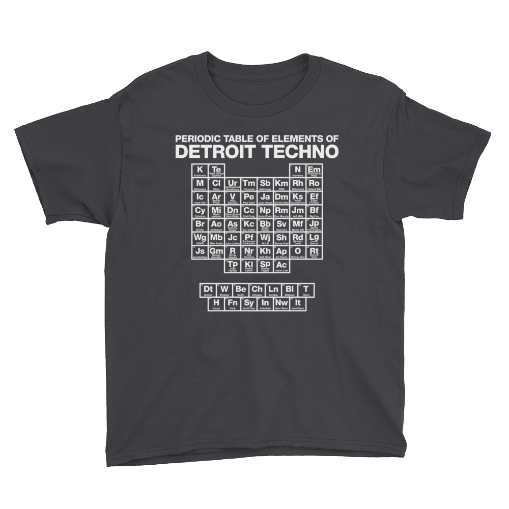 Image of Kids - Periodic Table of Detroit Techno Elements