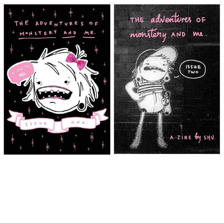 Image of Monstery and Me Zine, Issue One or Two
