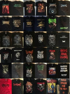 Image of Different Brutal Death T-shirts 15 $