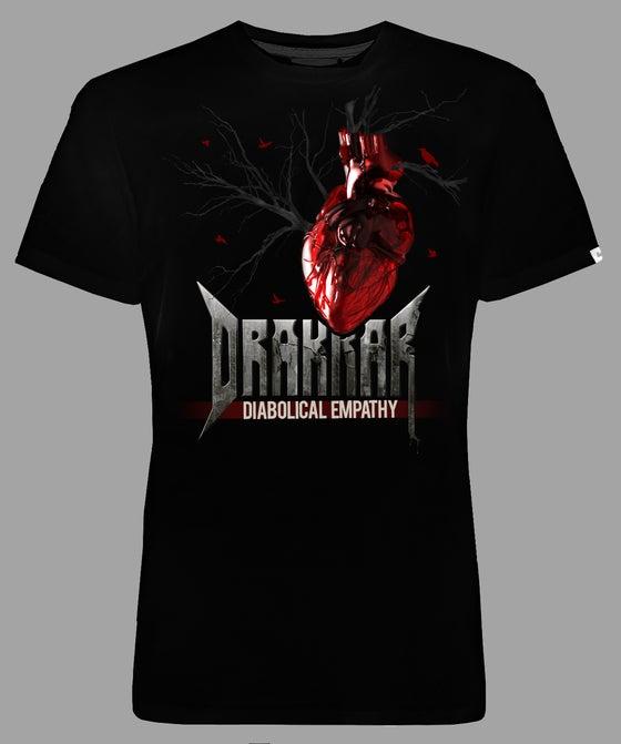 """Image of GIRLIE DRAKKAR Black -  """" HEART"""""""