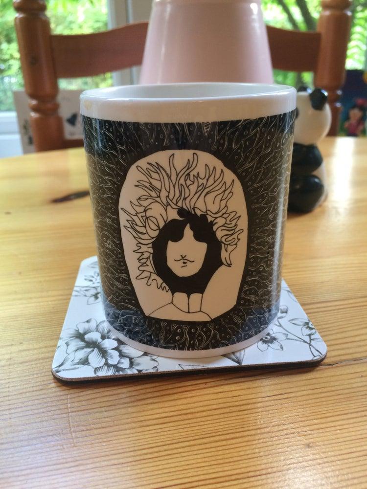 Image of Psychedelic Bob Dylan Mug