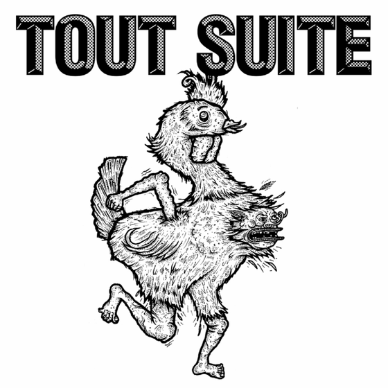 "Image of Tout Suite - Self Titled 7"" Vinyl"