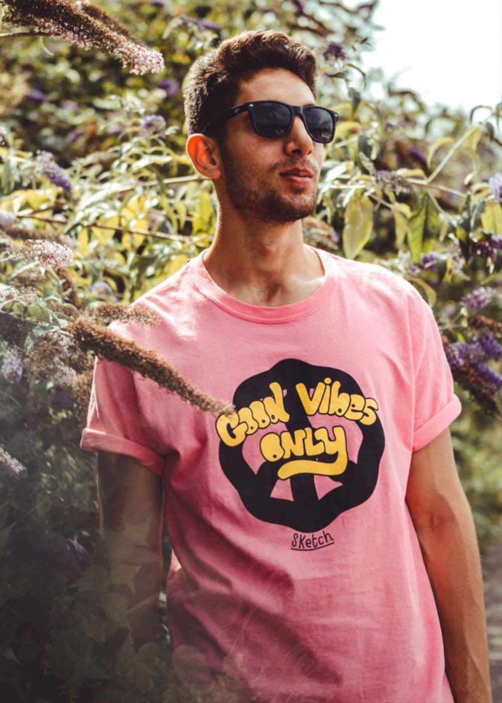 Image of GOOD VIBES ONLY TEE