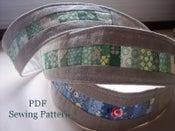 Image of Patchwork Headband PDF Pattern