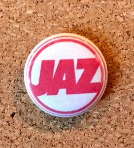 """Image of JAZ 1"""" Logo Pin"""