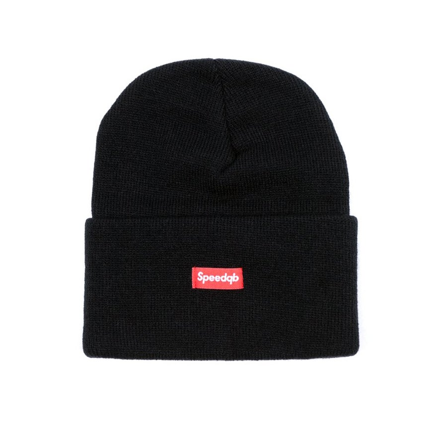 Image of SpeedQB Cuff Beanie - Black