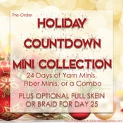 Image of PRE-ORDER: 24 Day Holiday Countdown Mini Collections + Day 25