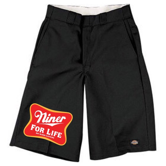 Image of Niner For Life Dickies Shorts (black)