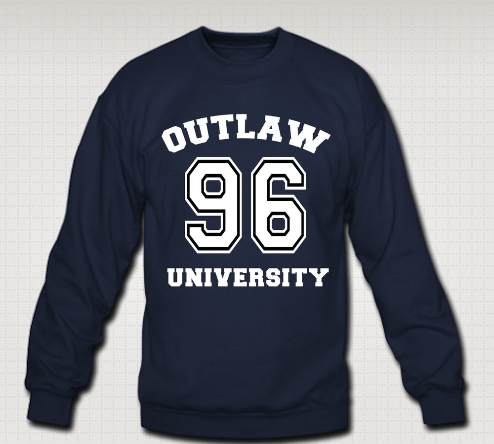 Image of OU 96 Crewneck, Comes in Navy Blue, Grey,Black,Red,Royal Blue -CLICK HERE TO SEE ALL COLORS