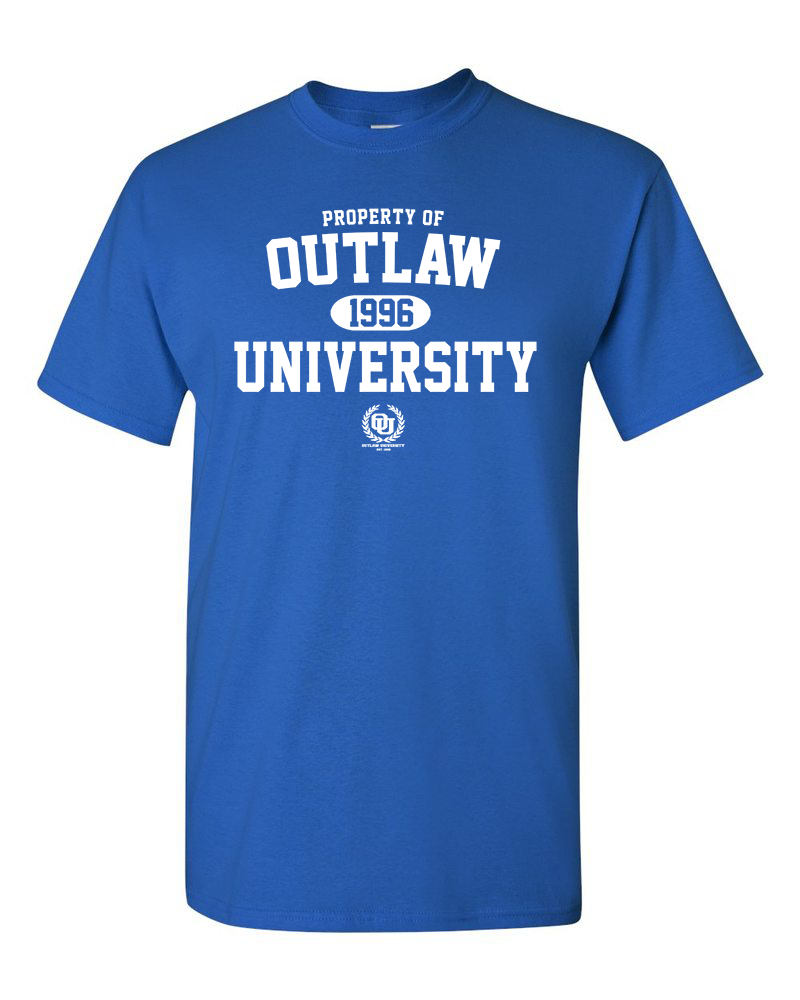 Image of OU Property Tshirts- Comes in Royal Blue,Yellow,Green,Orange, Brown - CLICK HERE TO SEE ALL COLORS