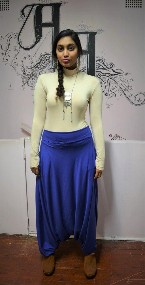 Image of Wandering Harem Pants (Blue).