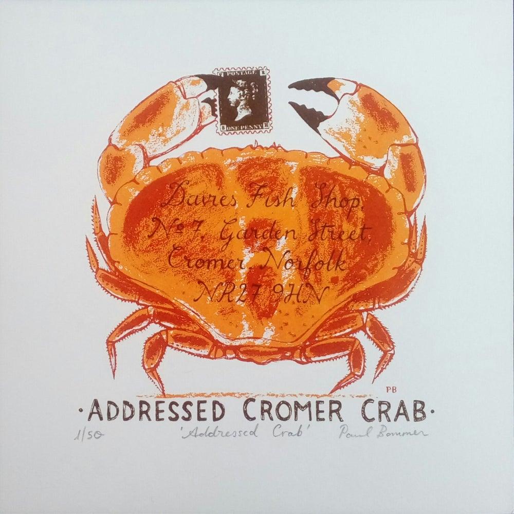 Image of Addressed Crab