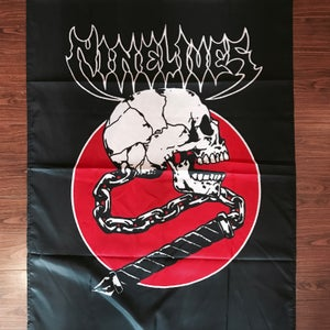 Image of Skull Crusher Flag