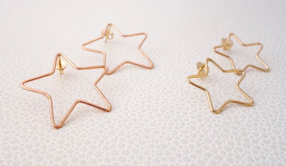 Image of Big Star Statement Studs
