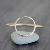 Image of Overcoats Cuff, Collaborative Design With Hana and JJ of the Overcoats, Minimal Geometric Bracelet