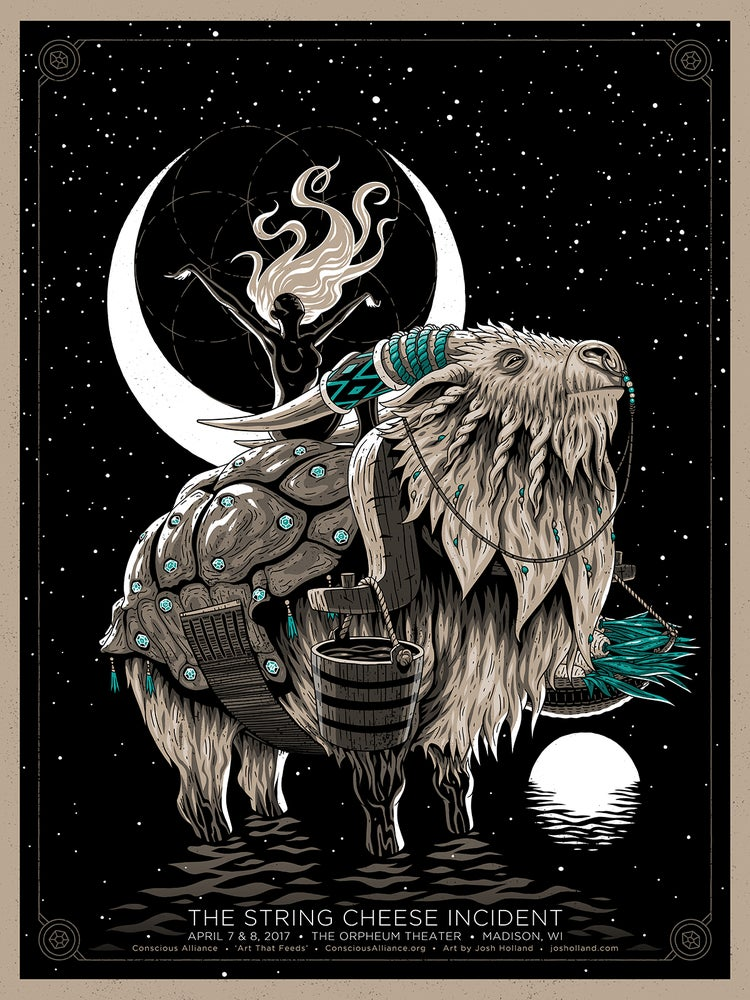 Image of SPACE OX SCI SHOW POSTER