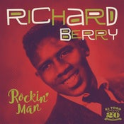 Image of EP Richard Berry : Rockin' Man.  (Includes Louie Louie)
