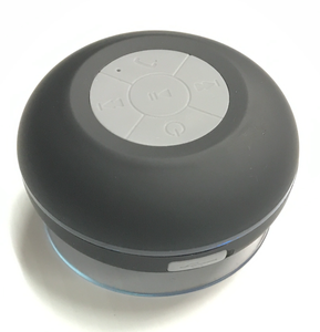 Image of Waterproof Bluetooth Shower Speaker with LED