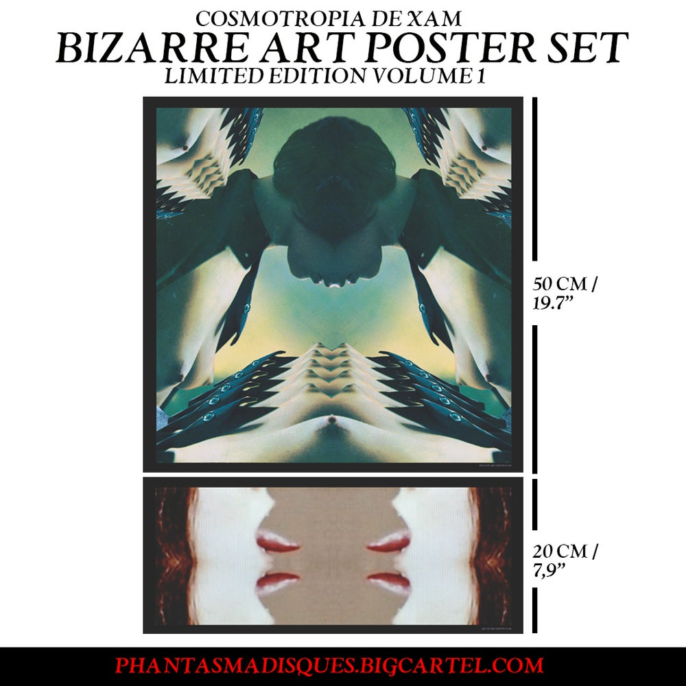 Image of [LIMITED EDITION] BIZARRE ART POSTER SET VOLUME 1