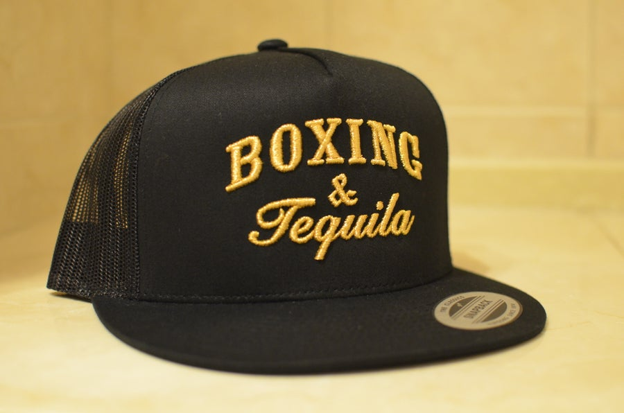 Image of Black Gold Boxing and Tequila Trucker SnapBacks