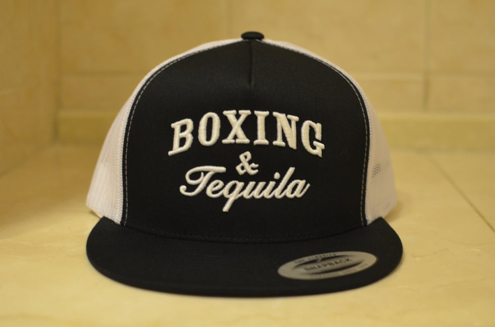 Image of Black Boxing and Tequila Trucker SnapBacks