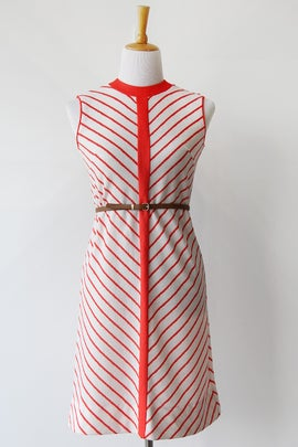 Image of Mod Chevron Dress