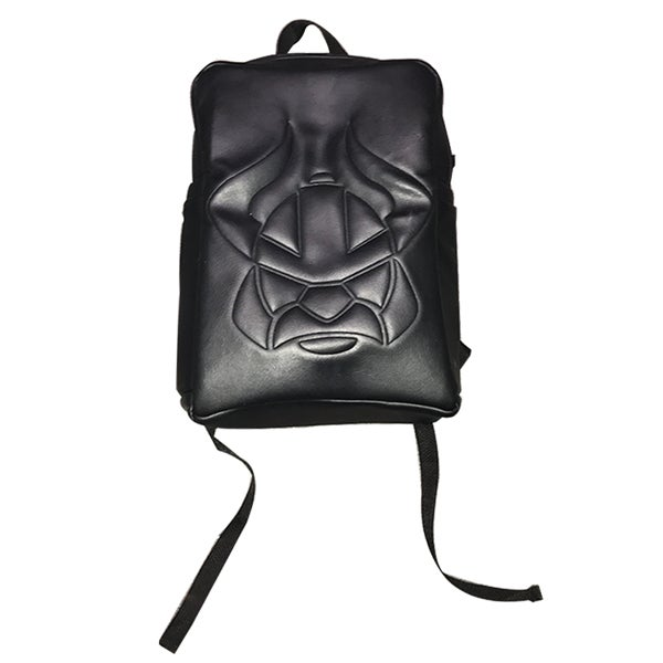 Image of Embossed Viking Backpack (Black)