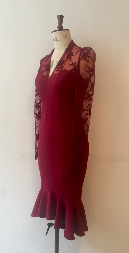 Image of Roisin fish tail dress