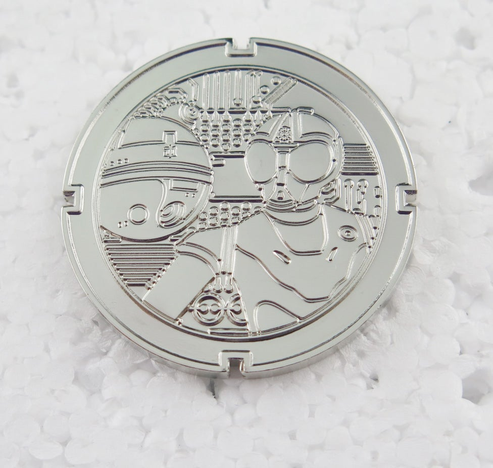 Image of RA-7 & IT-O DROID COIN #6!in series