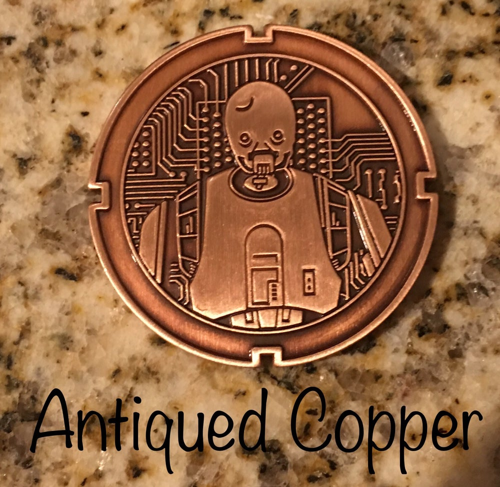Image of K2SO Droid Coin #9 in Series