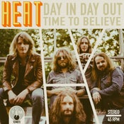 Image of Heat - Day In Day Out 7""