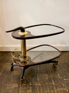 Image of Two-Tier Bar Trolley, Italy 1950s