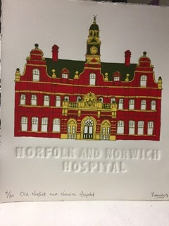 Image of Old Norfolk and Norwich hospital