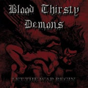 "Image of BLOOD THIRSTY DEMONS ""Let The War Begin - reissue"" CD"