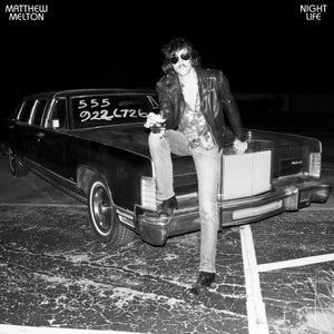 "Image of MATTHEW MELTON ""NIGHT LIFE"" LP (PRE ORDER)"