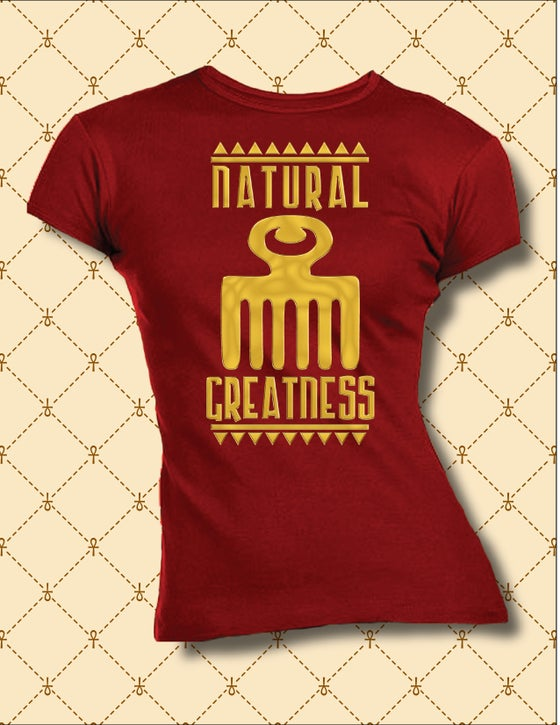 Image of WOMEN'S DUAFE NATURAL GREATNESS TEE