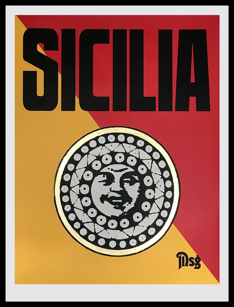 Image of Sicilia Traditional Yellow/Red/Black