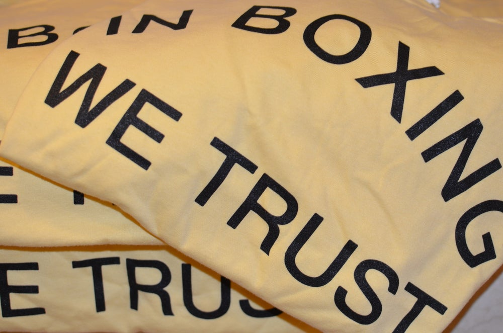 Image of Yellow In Boxing We Trust Mens Tees