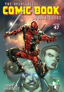Image of The Overstreet Comic Book Price Guide Volume 47 Hero Initiative Rob Liefeld Deadpool HC