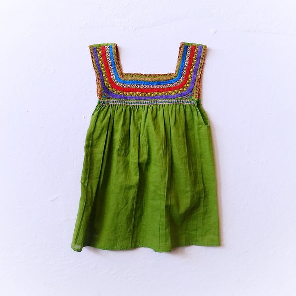 Image of SUMMER SALE Avocado Dream Dress ORGANIC