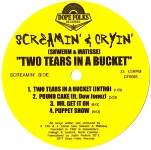 """Image of SCREAMIN' & CRYIN' """"TWO TEARS IN A BUCKET"""" EP"""